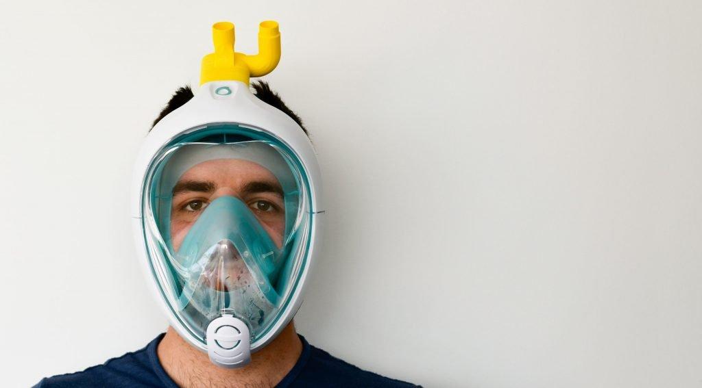 Easy Covid - Maschera di emergenza per respiratori ospedalieri stampata in 3D a Brescia